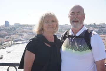 Jim and Edith in Porto Portugal