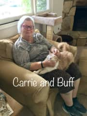 Carrie and Buff in Ojai, CA