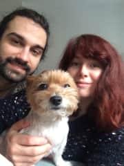 Pani, Ani, and Milo in Berlin