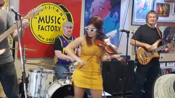 Jazzfest at the Music Factory in New Orleans.... let the good times roll.