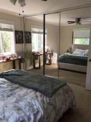 Main bedroom, the adult bedroom