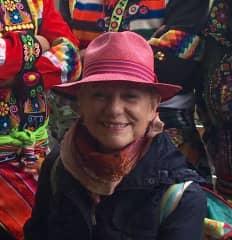 Me at the solstice celebration at Incapirka, Ecuador