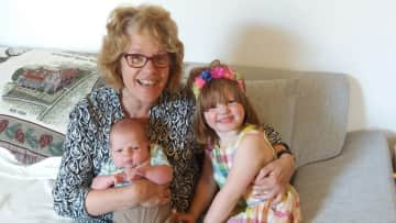 Grannie with babies