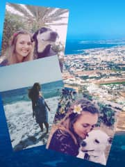 Me, Flecken and Lizzy (Limassol, Cyprus)