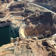 Touring Las Vegas area Hoover Dam Grand Canyon United States by helicopter