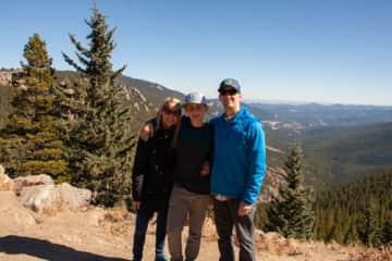 Visiting family in Colorado