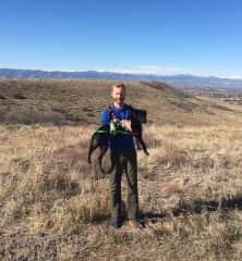 Nelson loves hiking