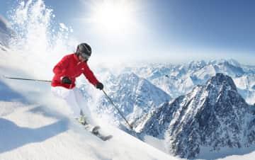 Me at Kuhtai ski test