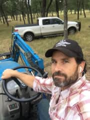 Working on the farm ; )