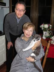 Linda and Paul Gordon with Winston