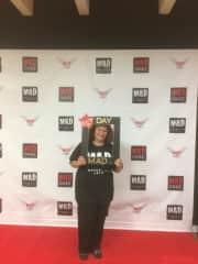 Me at my new job at MAD Performing Arts!