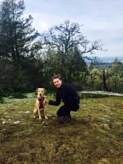 Jenn and Ruby (one month housesit in Victoria, BC)