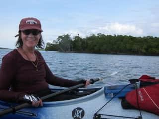 sea kayaking; one of my favorite activities
