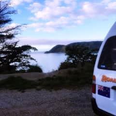 Van Trip in New Zealand