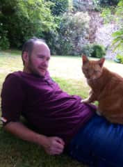 Michael and lovely Sophie (Devon  housesit ). See  review