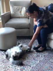 Getting to know Muffins :)