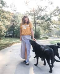 We got Savannah and Dakota, sisters, from the same litter. Savannah passed away in October 2020 from GOLPP. Her sister, Dakota, 14.5 years old, is still with us!
