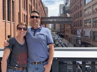 Jen and Graham - NYC pet sit 2019