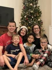 Family time at Christmas