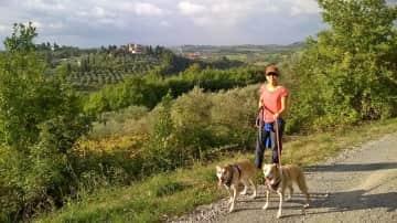 Vanessa, Lucy & Rueben, Tuscany, Italy