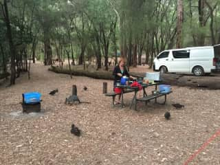 We love camping in our National Parks