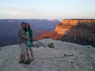 Ben + Melissa - Grand Canyon trip