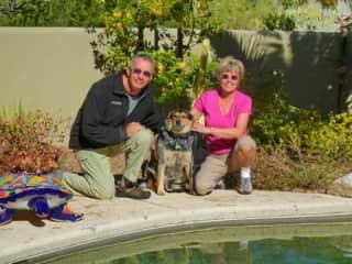 Tucson, Arizona dog sit December 2010