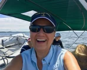 This is me, helping a couple sail their boat in Annapolis, MD. We are a sailing family, and from 2007-2009 we circumnavigated the Caribbean in our sail boat. Our blog is still up and you can look it up by googling: sailing our way kikuyu