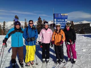 Skiing is one of our family passions together