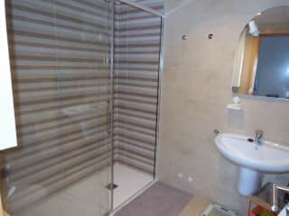 Main Bathroom with large Shower