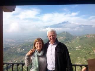 My wife Graziella and I