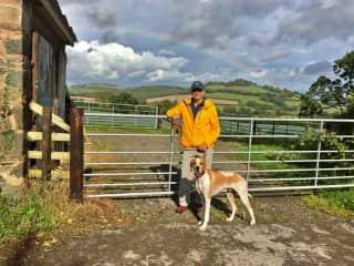 James and Findley, Devon September 2017