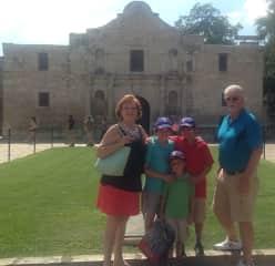 Grands visiting San Antonio with us 2016