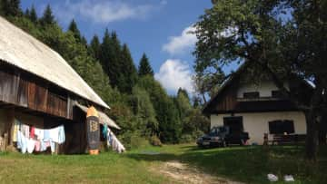 This is my house in Bohinj, Slovenia