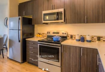 Sample kitchen from Discovery West website