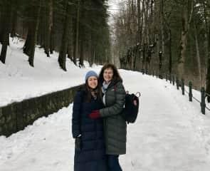 Family holiday, Transylvania. March 2018