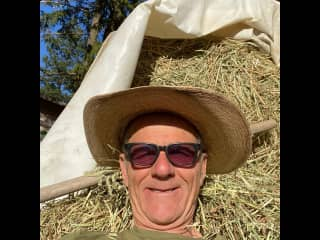 Being a farm boy, Kaleden BC, June 2021