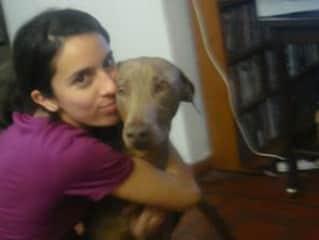 Muma, the last dog I had (she died at 13 y/o from cancer)