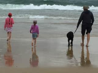Terry, 2 granddaughters, Cougar- Valla Beach.