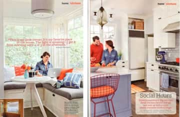 Our home featured in Better Homes & Garden Magazine