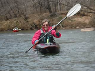 First paddle of spring '19 on the Pigg river, VA