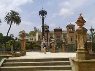 In Sevilla, Spain.