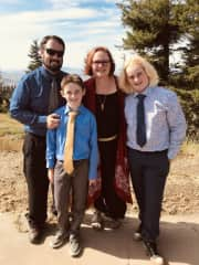 Kelvin, Oakley, Audrianna and Canyon