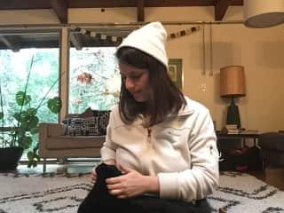 Kitty sitting :)