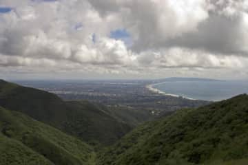Views from the trails that start near us - in the Santa Monica mountains