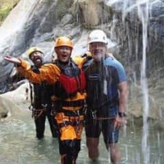 Rich and Judy Canyoneering in Mexico