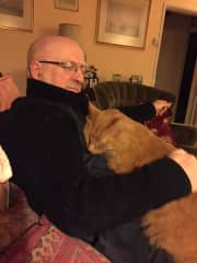 My husband with the irresistible Fred