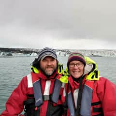 TJ and Terri in Iceland