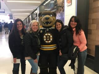 Bruins game with friends