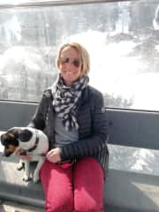 Me and Roxanne my adventurous Jack Russell